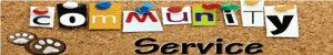Community Service Bulletin Board