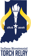 indiana torch relay logo