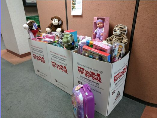 ILPEA Toys For Tots Collection Point
