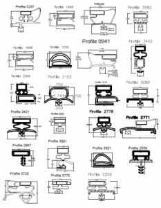food service flex gaskets diagram